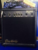 Guitar amp and pick up