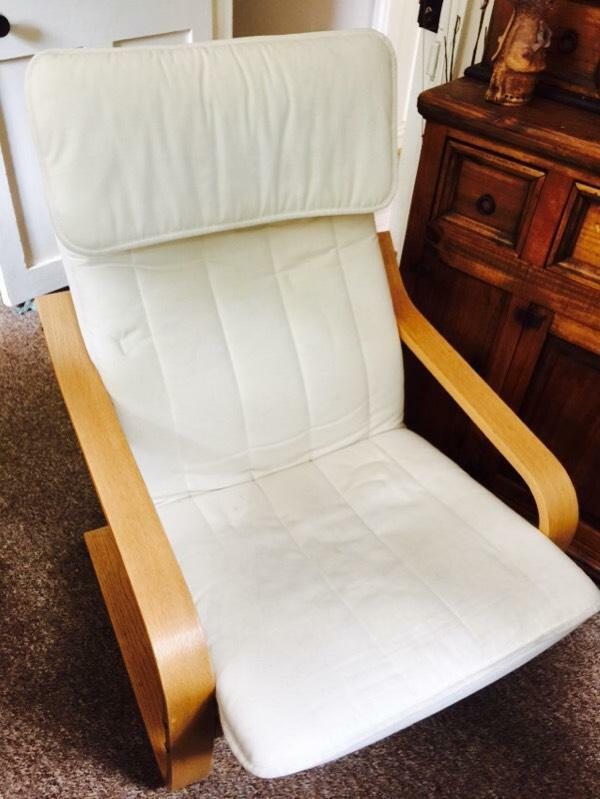 Poang Ikea Chair In Dartmouth Devon Gumtree