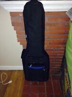 Soft-shell electric guitar case