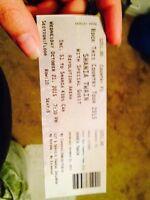 Shania Twain ticket