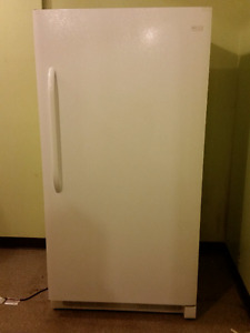 FRIGIDAIR 17 CF Refrigertor, LIKE NEW