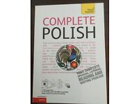 Complete Polish course nearly new