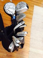 Full set of right handed golf clubs