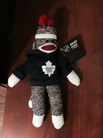 Toronto Maple Leafs Sock Monkey - Brand New