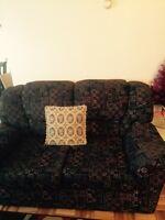 Living room with nice rug