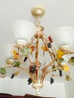 Lustre light fixture chandelier