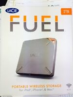 Lacie Fuel 2TB Wireless External Hard Drive NEW