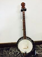 Gibson 5 string banjo 1970's vintage