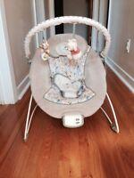 Vibrating chair baby / sieges sauteur/ bouncers