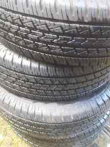 4 LT225/75/R16 Savero All Season Truck/SUV Tires. 99% Tread