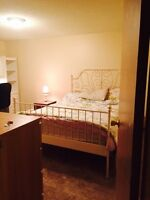 2 furnished bedrooms available for short term rental