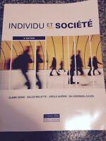 Livre sociologie individu et societe 5 e edition