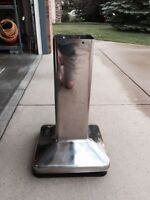 SS Pedestal stand for Jackson portable BBQ