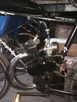 2 stroke gas powered bicycle