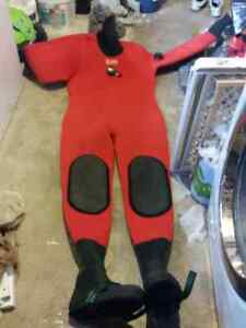 Large to XL Scuba dry suit for sale $300 OBO