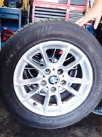 BMW rims with tires 225/55/ R16