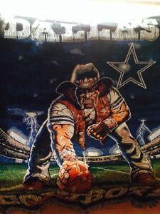 NFL Dallas Cowboys wall rug Gatineau Ottawa / Gatineau Area image 2