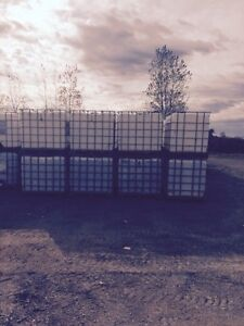NEW SHIPMENT 1000 LT totes wooden skid bottoms London Ontario image 1