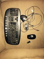 Logitech keyboard and sell mouse