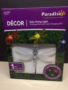 SOLAR-BUTTERFLY OUTDOOR LIGHTS--NEW
