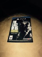 The last of us code for ps4
