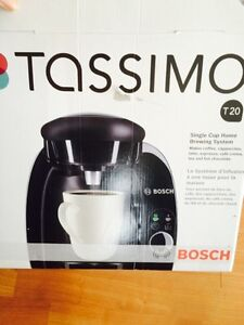 Tassimo, Bosch One year old with box