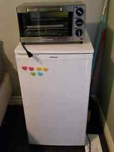 Mini fridge & toaster oven for sale