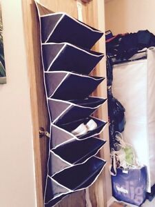 7 shelf over the door shoe rack