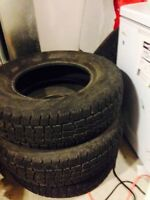 WINTER TIRES 225/75R15
