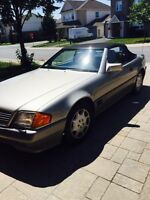 1994 MB 500SL mint condition 83K
