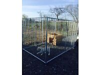 Dog Run / Dog Pen / Galvanised Panels / Bar Systems