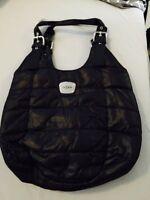 MEXX nylon black ladies purse, brand new