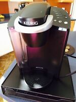 Keurig Machine with KCup tray
