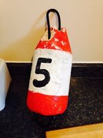 Large Vintage Buoy, Nautical Decor