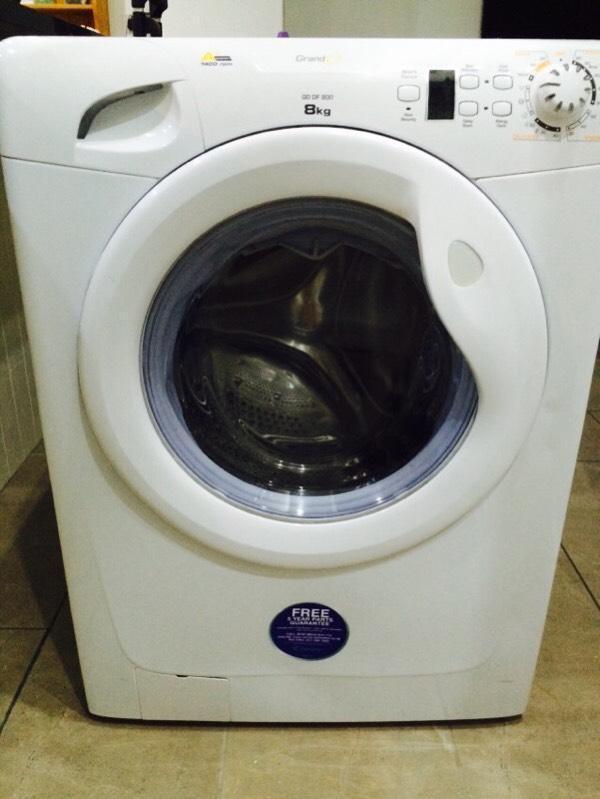 candy grand o 8kg 1400 spin washing machine in cowbridge. Black Bedroom Furniture Sets. Home Design Ideas