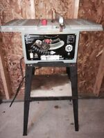 1992 KING CANADA 10 inch Cast Table Saw