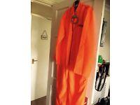 Prisoner overalls fancy dress m/l