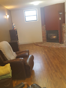 FURNISHED Basement Suite in Camrose Near Augustana University