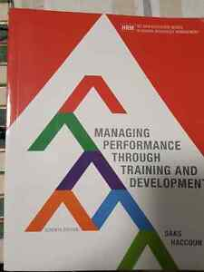 I sell the books for HR managers and students.