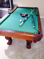 Jr. Sized Billiard Table / Ping Pong table