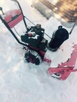 Working Snowblower $200 takes it away