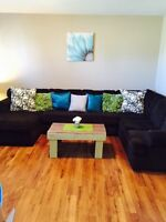 3 Piece Sectional Ashley Furniture Couch / Sofa