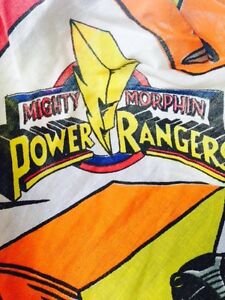 1994 power rangers fitted sheet