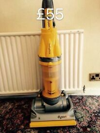 DYSON DC07 FULLY SERVICED MINT CONDITION YELLOW ORIGINAL DRLIVERY OPTION 2