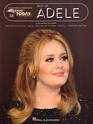Adele Best of 19 21 25 Songbook Noten für Keyboard sehr leicht