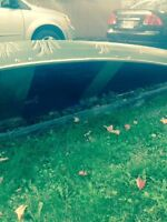 16 1-2 foot canoe for sale.