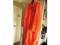 Prison overalls fancy dress M/L