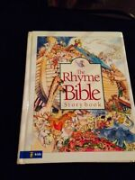 Rhyme Bible story book (hardcover)