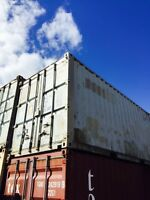 USED 20' STORAGE CONTAINERS