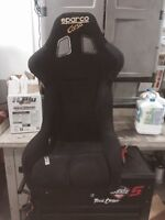 Sparco corsa track seat